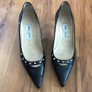 Jimmy Choo Alligator Leather Pumps